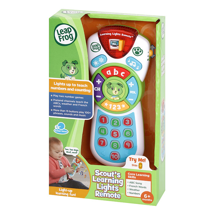d08544180fc7 LeapFrog Scouts Learning Lights Remote | LeapFrog | Prima Toys