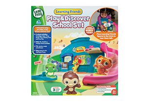 LeapFrog Lets Go To School Playset