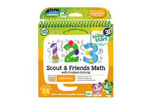 LeapStart 3D Scout & Friends Math with Problem Solving