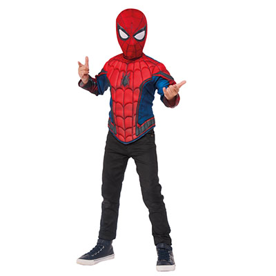Spiderman Home Coming Muscle Chest Top Set
