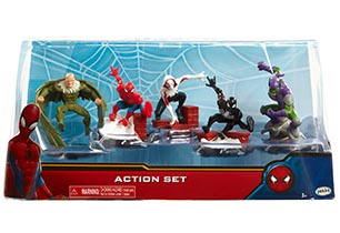 Spiderman Action Set