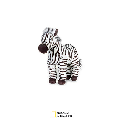 National Geographic plush - Zebra