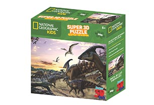 National Geographic 100pc Duck-Billed Dinosaurs 3D Puzzle