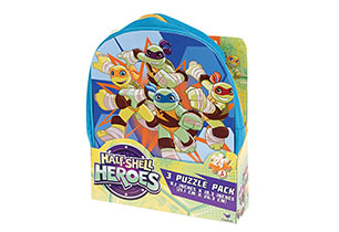Teenage Mutant Ninja Turtles 3 Puzzle Pack