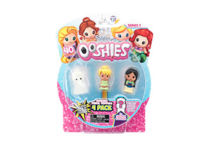 Disney Princess Ooshies 4 Pack In Blister