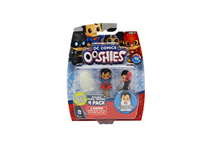 Justice League Ooshies 4 Pack In Blister