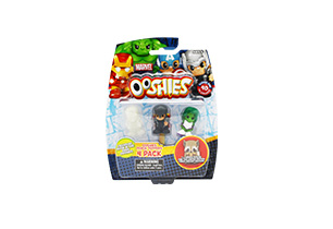 Marvel Ooshies 4 Pack In Blister
