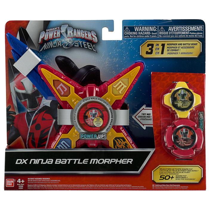 Power Rangers Ninja Steel Deluxe Star Morpher Power Rangers Ninja