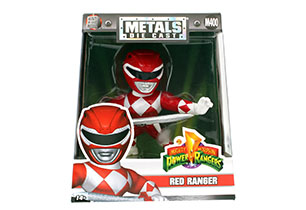 Power Rangers 10cm Metal Figures