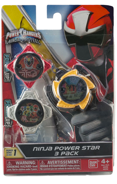 Power Rangers Ninja Steel Star Pack Power Rangers Ninja