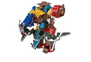 Power Rangers Super Ninja Steel Deluxe Megazord