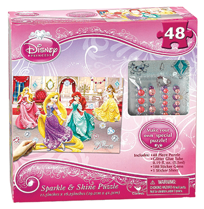 Disney Princess Sparkle & Shine Puzzle
