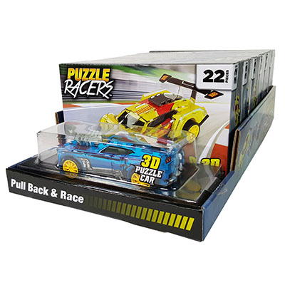 Rev Up 3D Car Puzzle