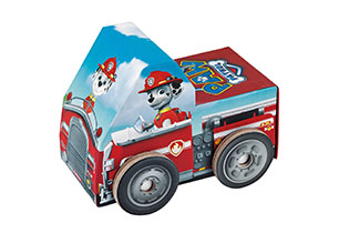 Paw Patrol Puzzle in Vehicle Shaped Box