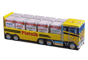 Piatnik Truck With Playing Cards