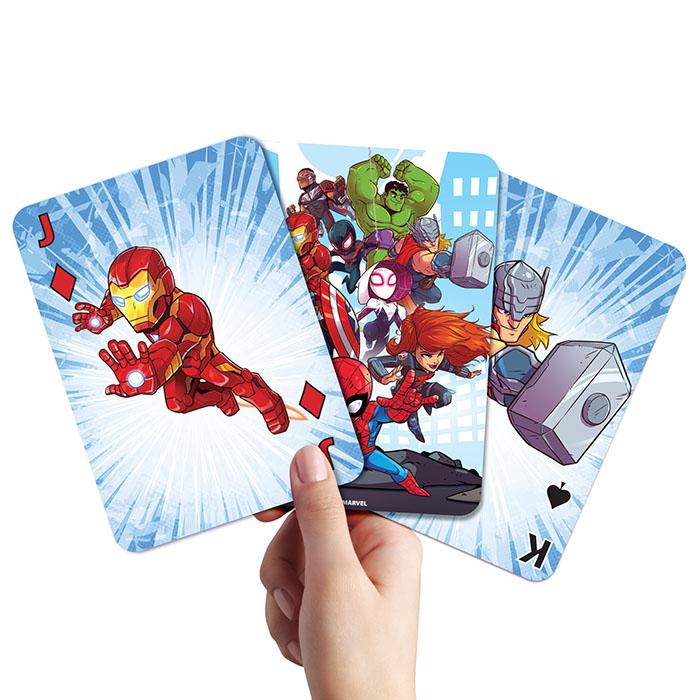Marvel Jumbo Playing Cards | Marvel | Prima Toys