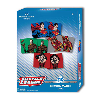 DC Comics Animated Memory Match Game