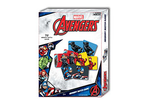 Marvel Animated Memory Match Game