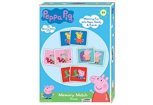 Peppa Pig Animated Memory Match Game