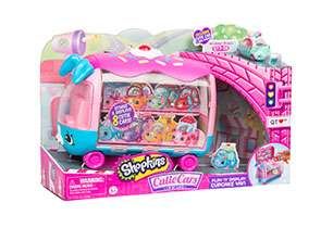 Shopkins Cutie Cars Collectors Van