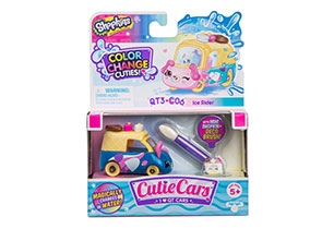 Shopkins Cutie Cars Colour Change Cuties - 1 Pack