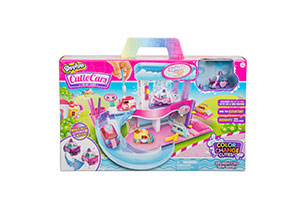 Shopkins Cutie Cars Colour Change Playset
