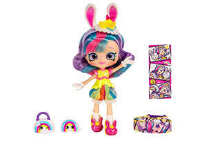 Shopkins Shoppies Wild Style Doll - Rainbow Kate