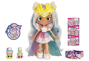 Shopkins Shoppies Wild Style Doll - Mystabella