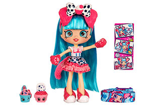 Shopkins Shoppies Wild Style Doll - Jessi Cake