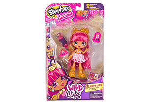 Shopkins Shoppies Wild Style Doll - Lippy Lulu