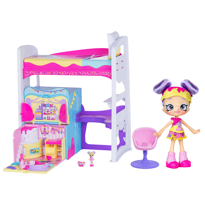 Shopkins Lil Secrets Loft Bed Playset Shopkins Lil