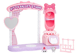 Shopkins Wild Style Kitty Ballet Studio Playset