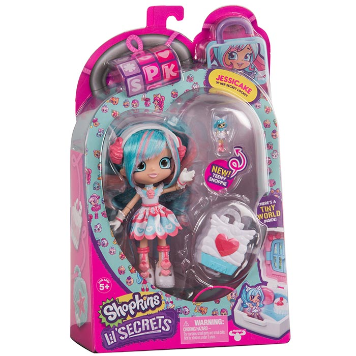 Shopkins Lil Secrets Shoppies Doll Shopkins Lil Secrets