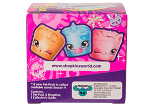 Shopkins Wild Style-2 Pack