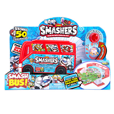Smashers Collectables Team Bus