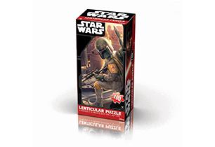 Star Wars Classic Lenticular Tower Puzzle