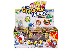 The Grossery Gang Crusty Chocolate Bar Surprise Pack