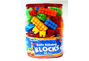 Tiny Hands Basic Building Blocks (86 Pieces)