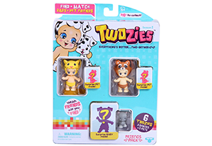 Twozies Friends 6 Pack