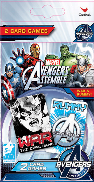 Avengers 2pk Playing Cards