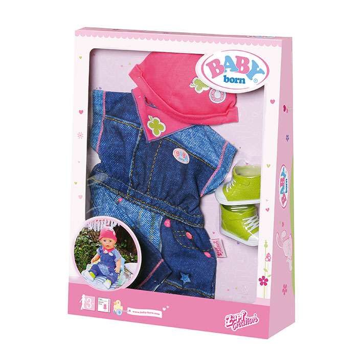 Baby Born Deluxe Jeans Collection Baby Born Prima Toys