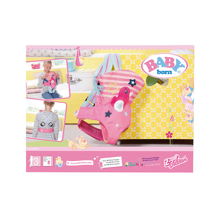 Baby Born Carrier Seat Baby Born Prima Toys