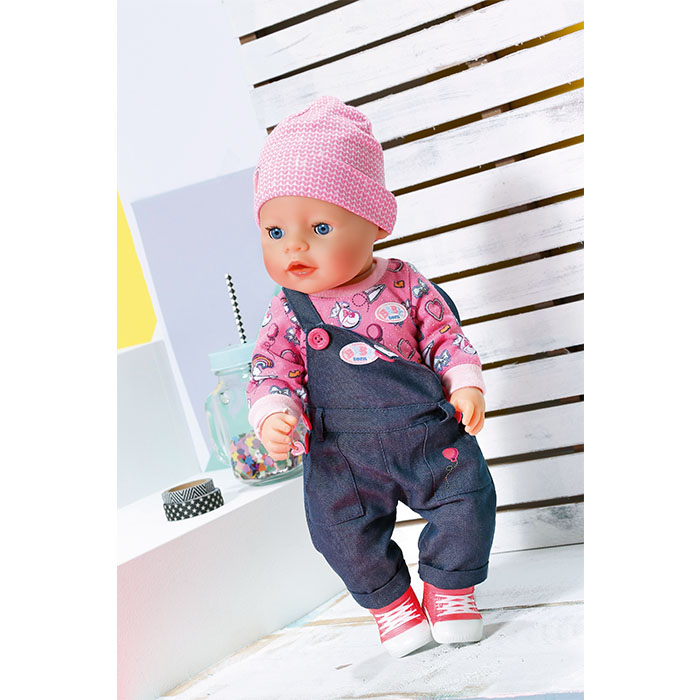Baby Born Soft Touch Jeans Girl Special Baby Born