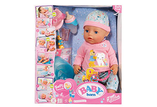 Baby Born Bath Soft Touch Girl 43cm