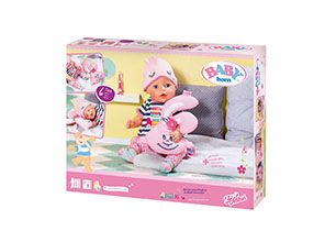 Baby Born Bath Deluxe Sleepover Set