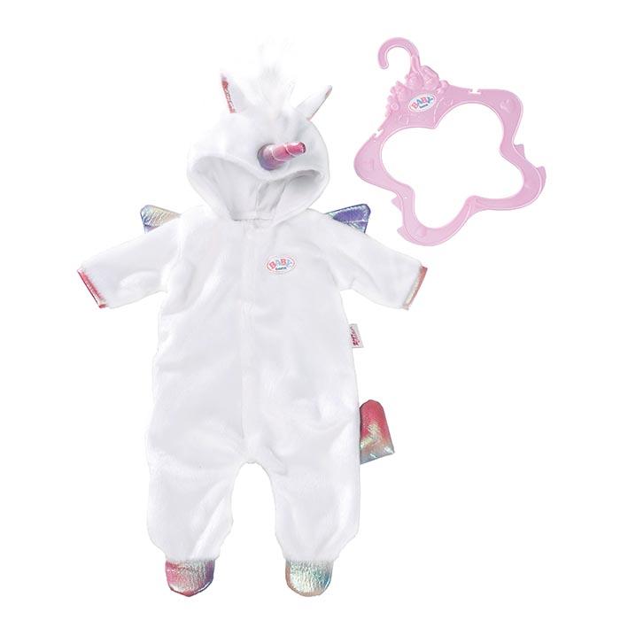 Baby Born Onesie Unicorn Outfit Baby Born Prima Toys