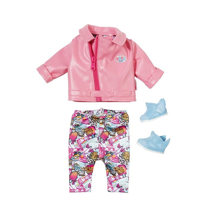 Baby Born Play Fun Deluxe Scooter Outfit Baby Born