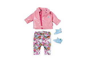 Baby Born Play Fun Deluxe Scooter Outfit