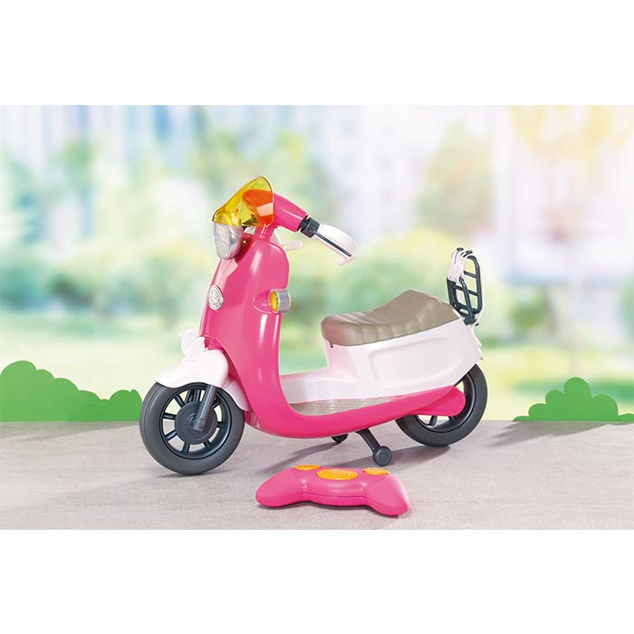 Baby Born Play Fun Rc Scooter Baby Born Prima Toys