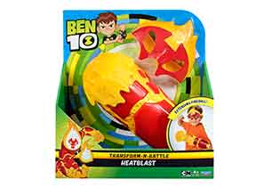 Ben 10 Transform-N-Battle